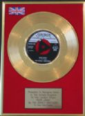 "EVERLY BROTHERS -  7"" Gold Disc -POOR JENNY"